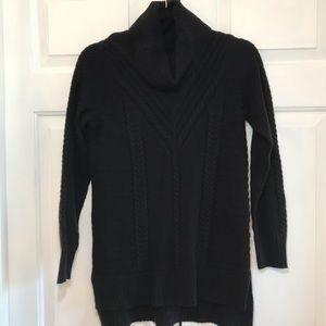 Kensie Black Cowlneck Sweater XS